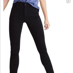 Madewell Roadtripper High Waisted Jeans Black 25